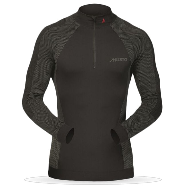 THERMAL BASE LAYER ZIP NECK
